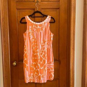Lilly Pulitzer Giraffey Shift Dress - Size 8